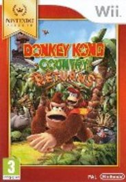 WIIU Game Donkey Kong, Country Returns (Select)