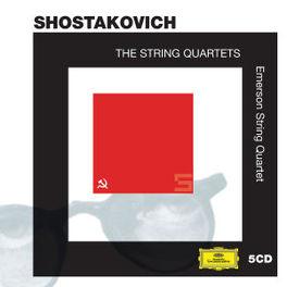 STRING QUARTETS EMERSON STRING QUARTET Audio CD, D. SHOSTAKOVICH, CD