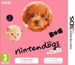 Game, 3DS, Nintendogs + Cats, Toy Poodle & New Friends