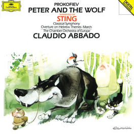 PETER & THE WOLF SYMPH. C STING/CHAMBER ORCH OF EUROPE/C.ABBADO Audio CD, S. PROKOFIEV, CD