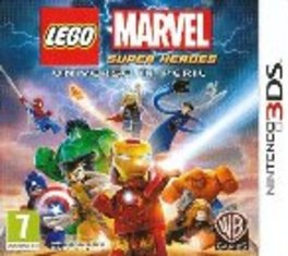 Game 3DS LEGO Marvel Super Heroes