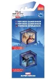 Disney Infinity 2.0 Marvel Super Heroes Toy Box Game Discs