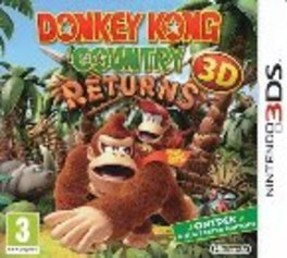3DS Game, Donkey Kong, Country Returns 3D
