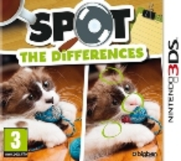 3DS Game Spot The Differences