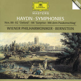 SYMPHONY NO.88,92 & 94 -WIENER PHILHARMONIC/LEONARD BERNSTEIN Audio CD, J. HAYDN, CD