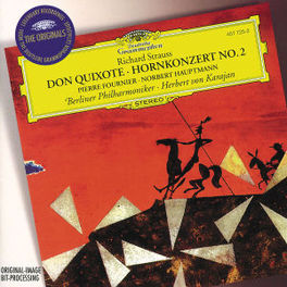 DON QUIXOTE W/BERLINER PHILHARMONIKER, HERBERT VON KARAJAN Audio CD, R. STRAUSS, CD