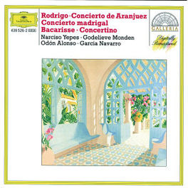 GUITAR CONCERTO -YEPES/MONDEN/ALONSO Audio CD, SALVADOR BACARISSE, CD
