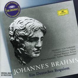 EIN DEUTSCHES REQUIEM BERLINER PHIL./HERBERT VON KARAJAN Audio CD, J. BRAHMS, CD