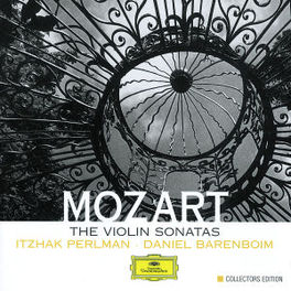 VIOLIN SONATAS W/ITZHAK PERLMAN, DANIEL BARENBOIM Audio CD, W.A. MOZART, CD