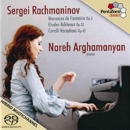 MORCEAUX DE FANTAISIE OP. NAREH ARGHAMANYAN S. RACHMANINOV, CD