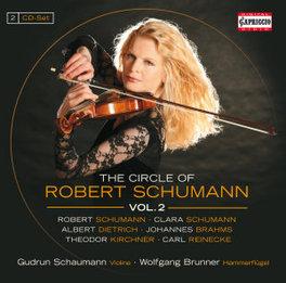 CIRCLE OF ROBERT SCHUMANN GUDRUN SCHAUMANN/WOLFGANG BRUNNER R. SCHUMANN, CD