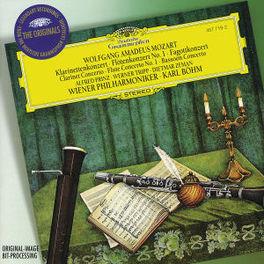 CLARINET CONCERTO KV622 FLUTE CONCERTO/BASSOON CONCERTO/W/ALFRED PRINZ, WIENER Konzert für Klarinette und Orchester KV622 / Konzert für Flöte und Orchester KV313 / Konzert für Fagott und Orchester KV191, W.A. MOZART, CD