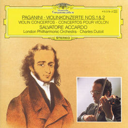 VIOLINKONZERTE NO.1&2 ACCARDO/LPO/DUTOIT Audio CD, N. PAGANINI, CD