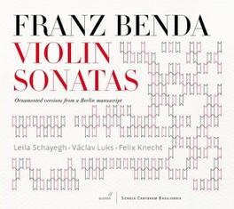 VIOLIN SONATAS LEILA SCHAYEGH F. BENDA, CD