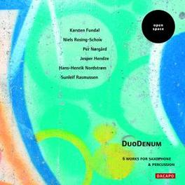 6 WORKS FOR SAXOPHONE DUODENUM, CD