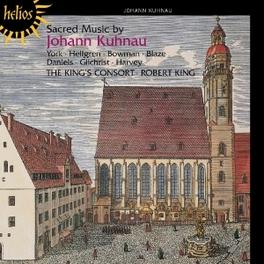 SACRED MUSIC KING'S CONSORT: ROBERT KING J. KUHNAU, CD