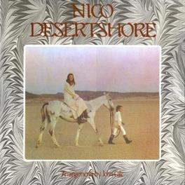 DESERTSHORE -HQ VINYL- 1970 ALBUM, ON 180 GR. VINYL, GATEFOLD SLEEVE NICO, Vinyl LP