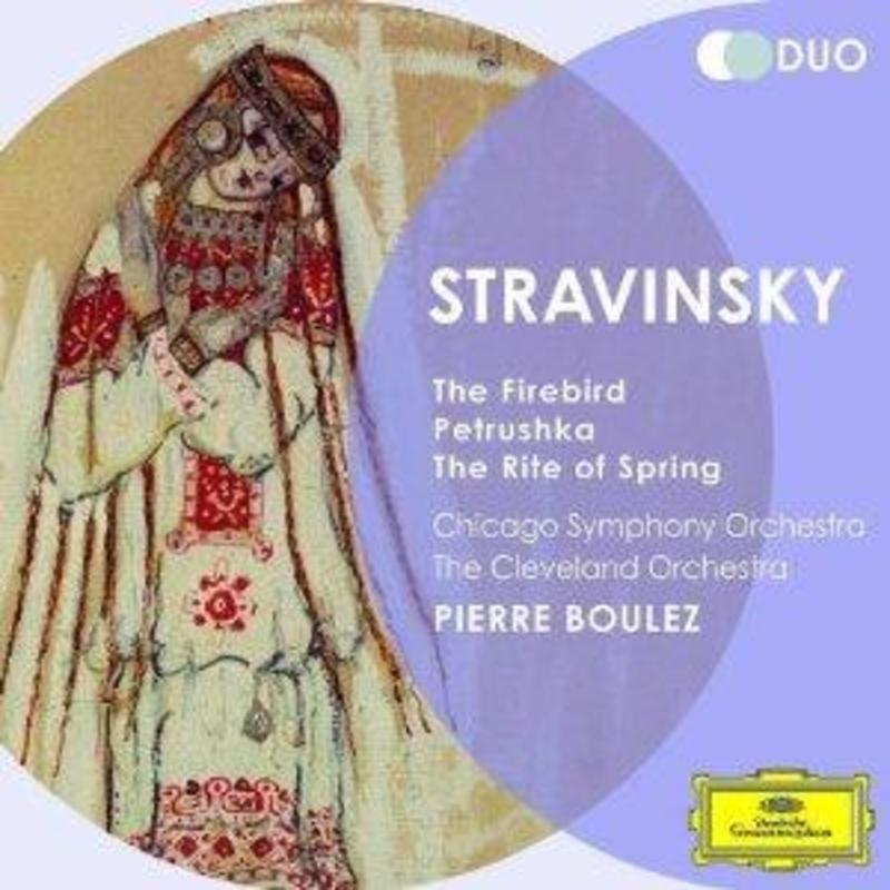 FIREBIRD/PETRUSCHKA PIERRE BOULEZ/CSO I. STRAVINSKY, Audio Visuele Media