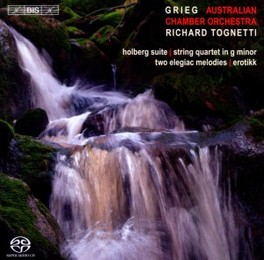 MUSIC FOR STRING ORCHESTR AUSTRALIAN CHAMBER ORCHESTRA E. GRIEG, CD