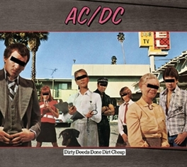 DIRTY DEEDS DONE.. -HQ- .. DIRT CHEAP / 180GR. AC/DC, LP