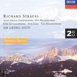 ALSO SPRACH ZARATHUSTRA GEORG SOLTI Audio CD, R. STRAUSS, CD