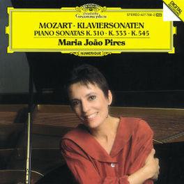 PIANO SONATAS KV 310/333/ 545 W/MARIA JOAO PIRES Audio CD, W.A. MOZART, CD