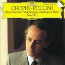 PIANO SONATAS NO.2 & 3 MAURIZIO POLLINI