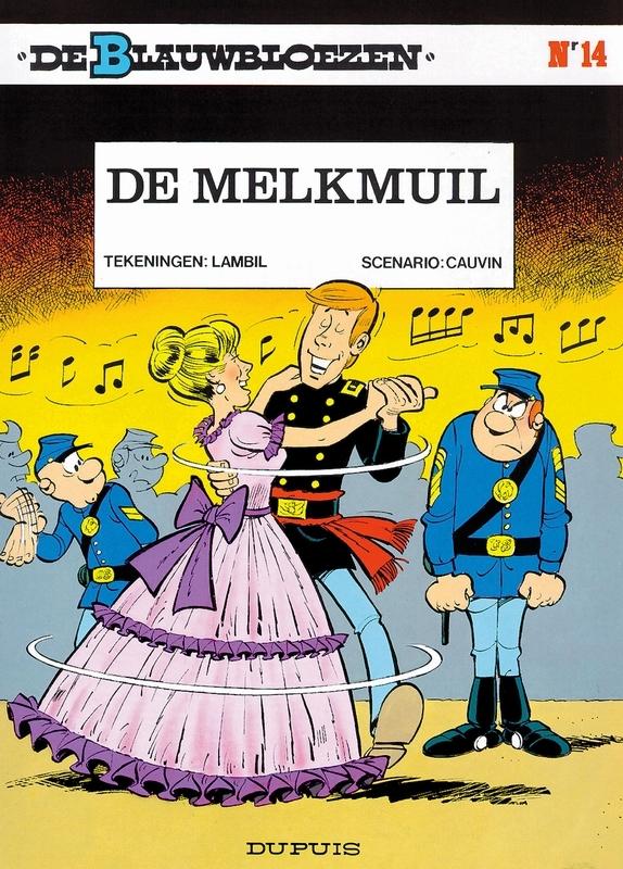 BLAUWBLOEZEN 14. DE MELKMUIL BLAUWBLOEZEN, Cauvin, Raoul, Paperback
