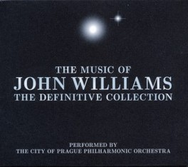 JOHN WILLIAMS-DEFINITIVE PERFORMED BY CITY OF PRAGUE PHILHARMONIC ORCHESTRA OST, CD