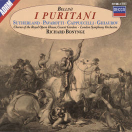 I PURITANI(COMPL.) SUTHERLAND/CHORUS ROYAL OPERA/LSO/BONYNG Audio CD, V. BELLINI, CD