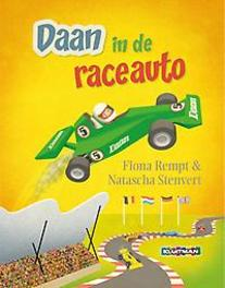 Daan in de raceauto Fiona Rempt, Hardcover