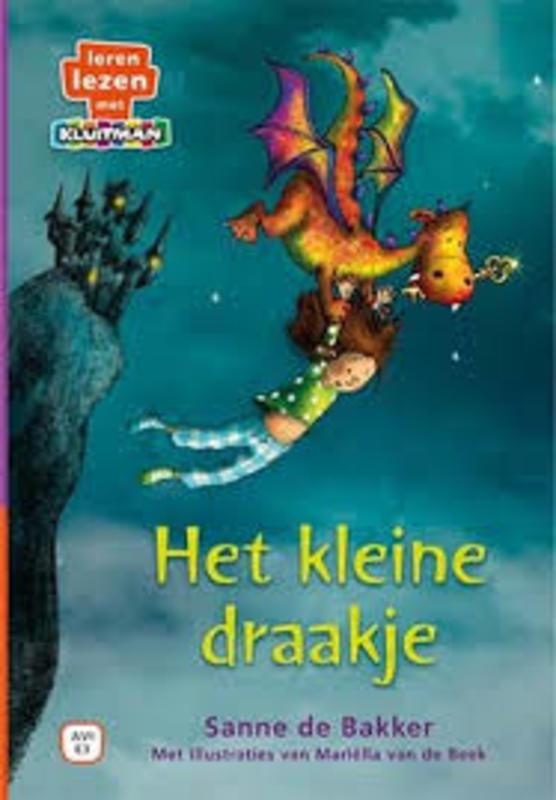 Het kleine draakje Sanne de Bakker, Hardcover