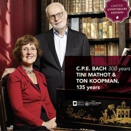 FANTASIA/6 ORGAN SONATAS TON KOOPMAN/TINI MATHOT C.P.E. BACH, CD