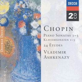 PIANO SONATAS 1-3 W/ASHKENAZY Audio CD, F. CHOPIN, CD