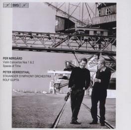 VIOLIN CONCERTOS STAVANGER S.O./R.GUPTA P. NORGARD, CD