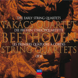 EARLY QUARTETS TAKACS QUARTET Audio CD, L. VAN BEETHOVEN, CD