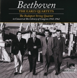 EARLY QUARTETS BUDAPEST STRING QUARTET L. VAN BEETHOVEN, CD