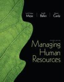 Managing Human Resources:United States Edition Robert L. Cardy, Hardcover
