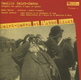 INTEGALE DES PIECES D'ORG SACRUM/VEISMANIS SAINT-SAENS, C., CD