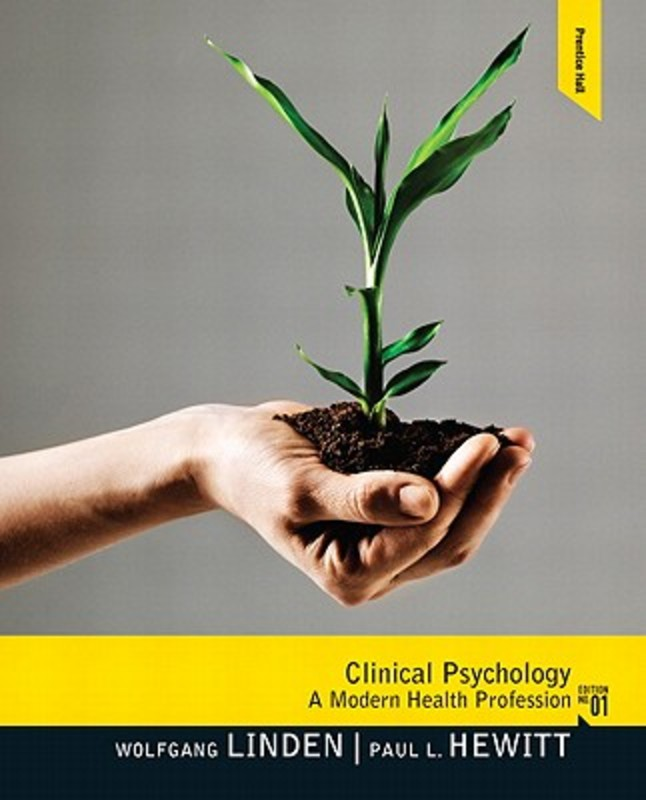 Clinical Psychology A Modern Health Profession, Linden, Wolfgang, Hardcover