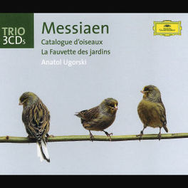 CATALOGUE D'OISEAUX W/UGORSKI Audio CD, O. MESSIAEN, CD