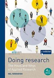 Doing Research the hows and whys of applied research, Nel Verhoeven, Paperback
