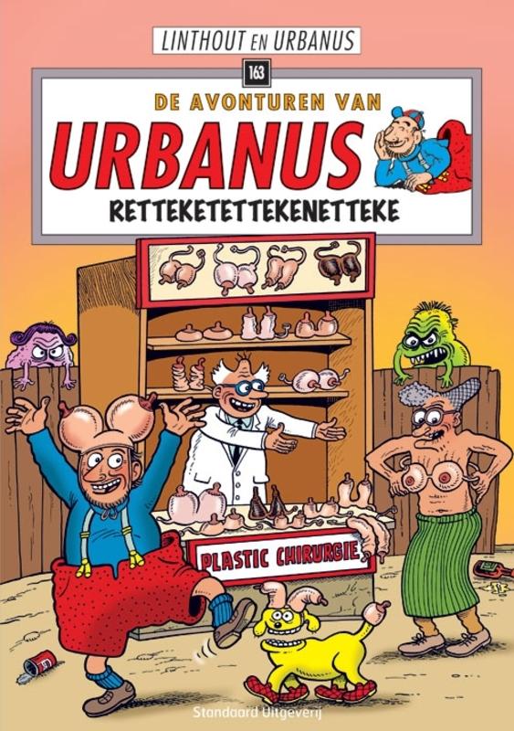 URBANUS 163. RETTEKETETTEKENETTEKE Urbanus, Linthout, Paperback