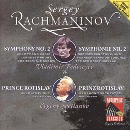 SYMPH.NO.2/PRINCE ROTISLA USSR TV & RADIO SYMPH.ORCH.MOSCOW/GERGIEV Audio CD, S. RACHMANINOV, CD