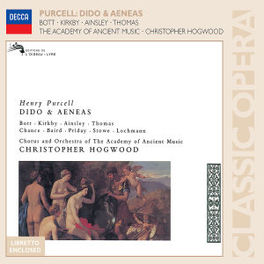 DIDO & AENEAS W/ACADEMY ANCIENT MUSIC/HOGWOOD, KIRKBY, A.O. Audio CD, H. PURCELL, CD