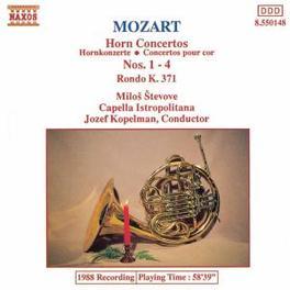 HORN CONCERTOS NOS.1-4 STEVOVE/CAPELLA ISTROPOLITANA/KOPELMAN W.A. MOZART, CD