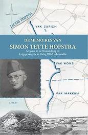 De memoires van Simon Tette Hofstra feiten en cijfers, Topper, J., Paperback