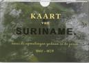 Kaart van Suriname:...