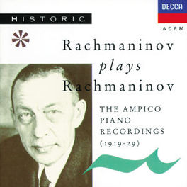 PIANO MUSIC Audio CD, S. RACHMANINOV, CD