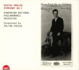 SYMPHONY NO.1 HUNGARIAN NATIONAL PHILHARMONIC/KOCSIS G. MAHLER, CD